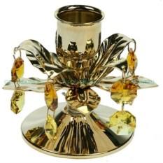 Подсвечник с кристаллами Swarovski Цветок