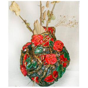 Ваза «Алые розы»