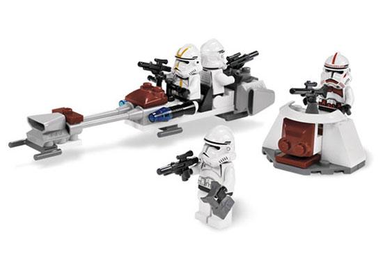 Игрушка LEGO: Боевой комплект клонов