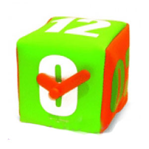 Часы-куб «Яркие»