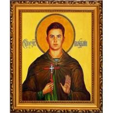Икона мученика воина на холсте Евгений Родионов