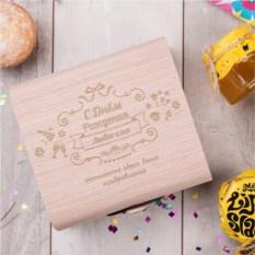 Подарочный набор мёда Сладкий день рождения