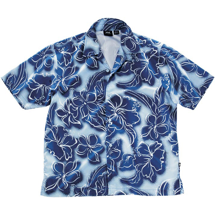 Рубашка Helly Hansen West Printed SS Shirt