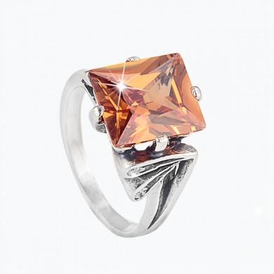 Серебряное кольцо «Каприз»