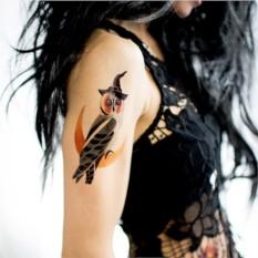 Татуировка переводная Sasha Unisex Owl