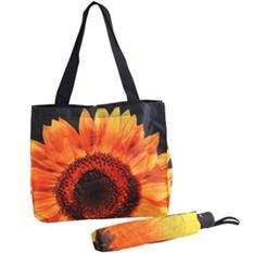 Набор «Подсолнух» (зонт и сумка для шопинга)