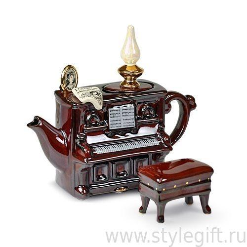Чайник Фортепиано мини