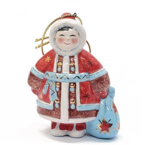 Елочная игрушка Мальчик с мешком (Север)