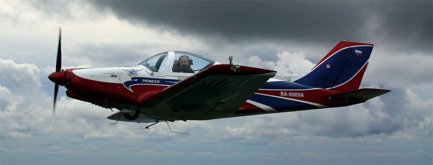 Сложный пилотаж на самолете Pioneer-330 Acro