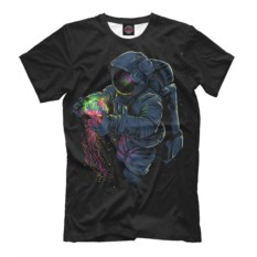 Мужская футболка Космическая медуза