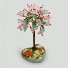 Дерево из розового кварца Желанное
