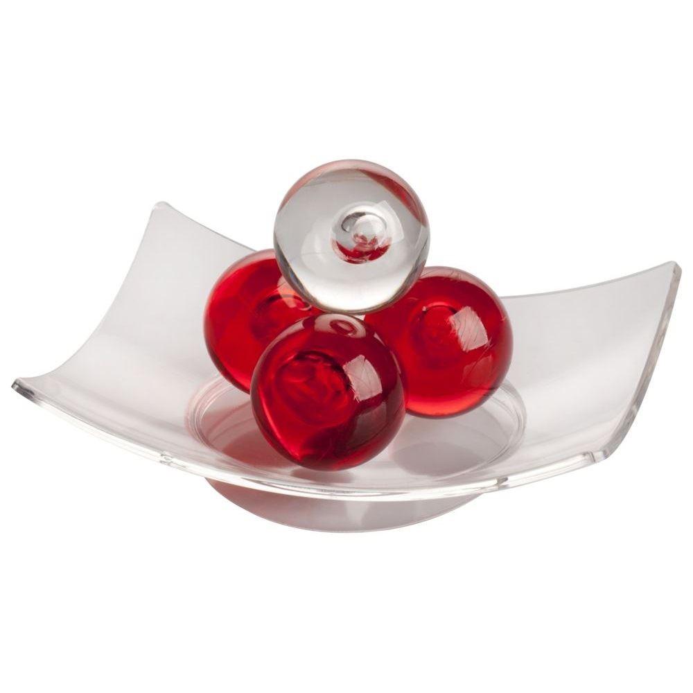 Антистресс Harmonibrium красного цвета