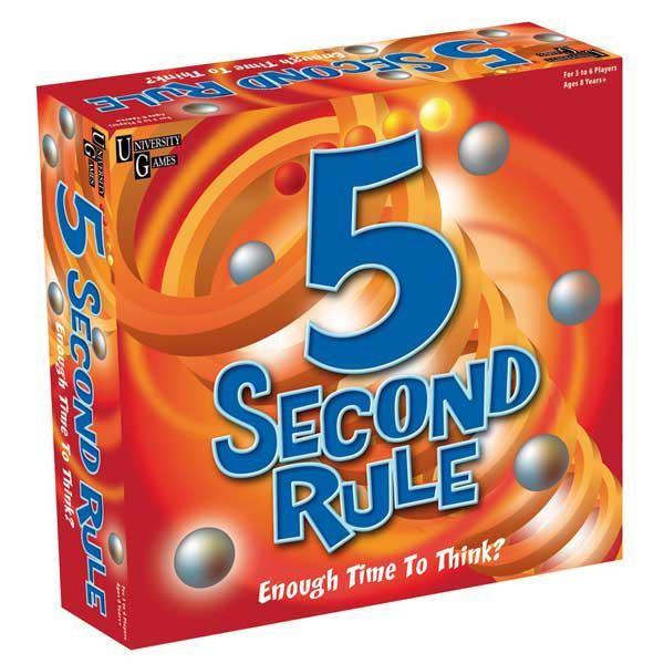 Настольная игра Ответь за 5 секунд