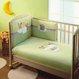 Постельное бельё в кроватку Rabbit terzetto