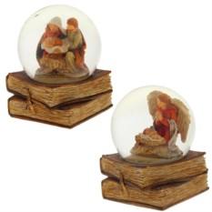 Декоративная фигурка в стеклянном шаре Рождество