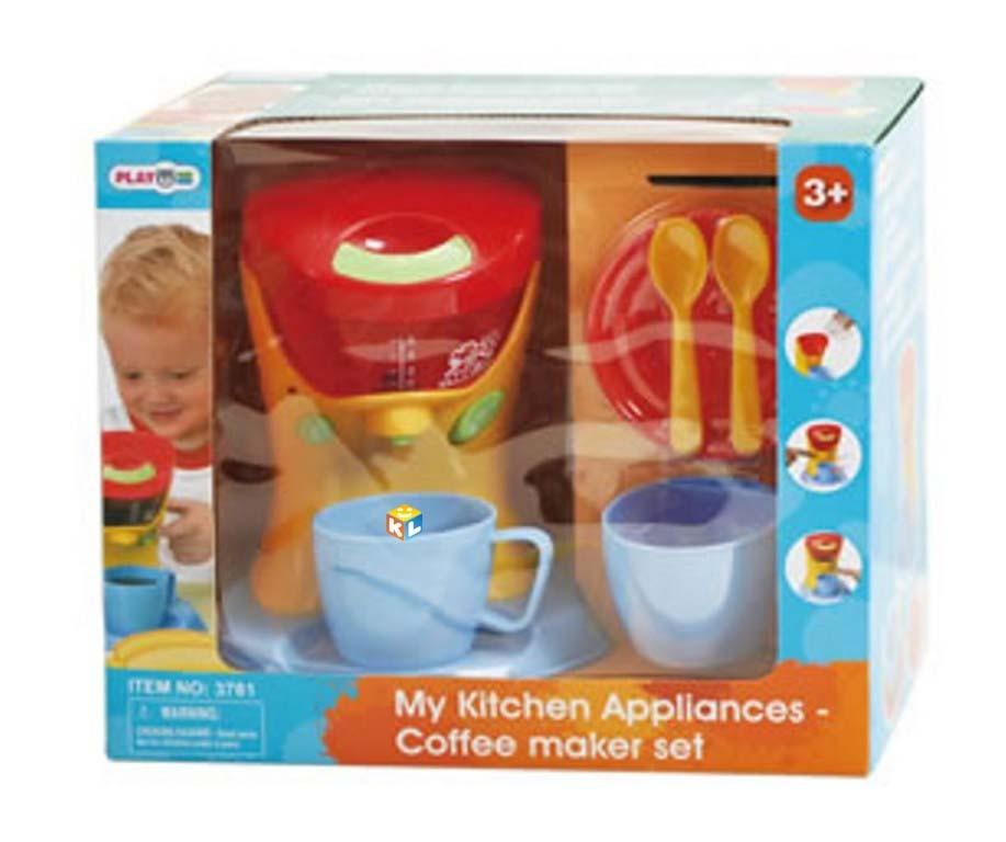 Игровой набор бытовой техники с кофеваркой Playgo