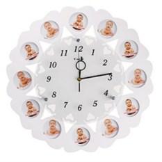 Настенные часы-фоторамка  12 месяцев