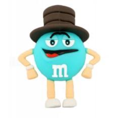 Флешка M&M`s (голубой)
