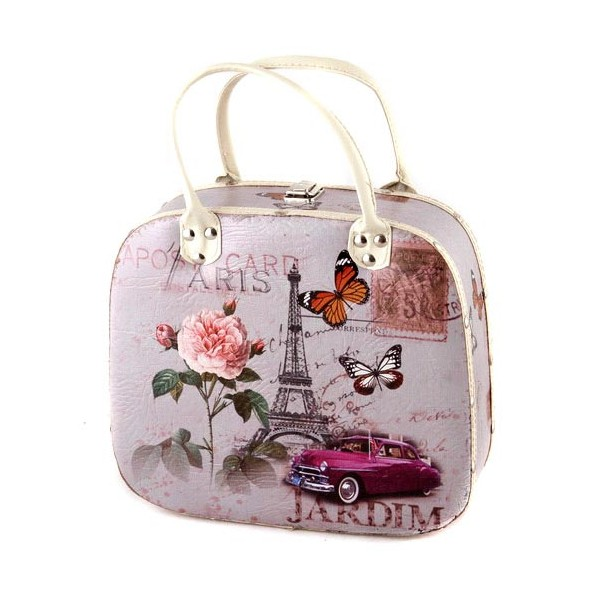 Декоративная сумка-шкатулка