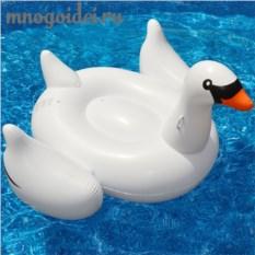 Надувной матрас Белый лебедь
