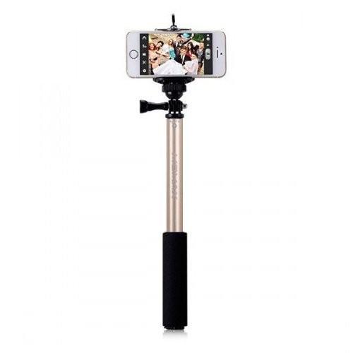 Селфи-монопод MOMAX SelfiFit KMS1 Gold с пультом Bluetooth