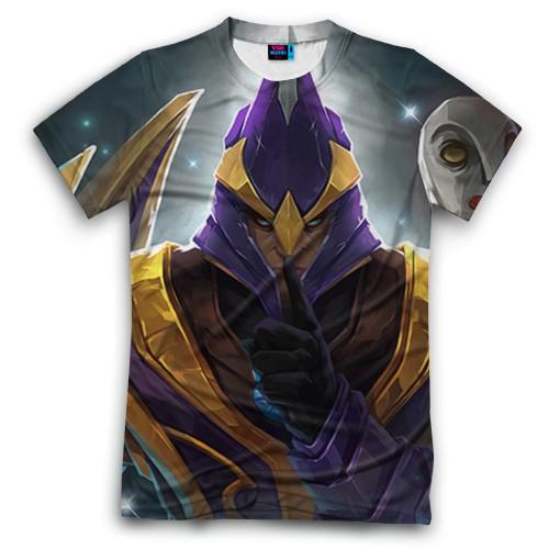 Мужская футболка 3D с полной запечаткой Silencer