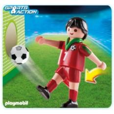 Конструктор Playmobil Игрок сборной Португалии по футболу