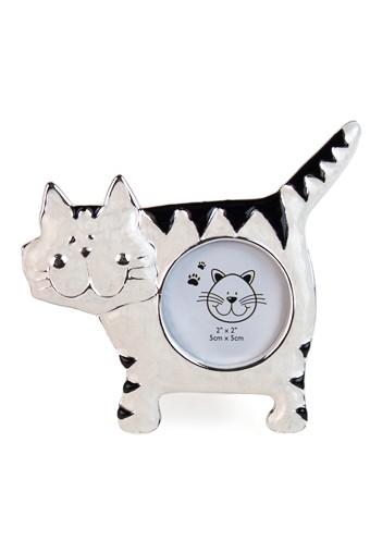 Рамка для фото Полосатый котик