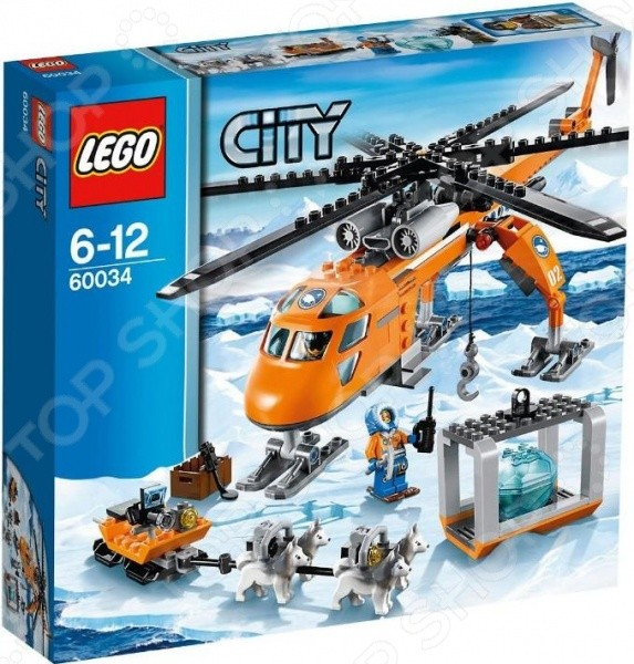 Конструктор - Lego - Арктический вертолёт