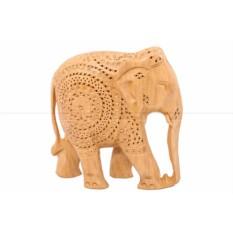 Фигурка Слон с опущенным хоботом вниз