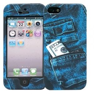 Чехол для iPhone 5/5s Dual Jeans