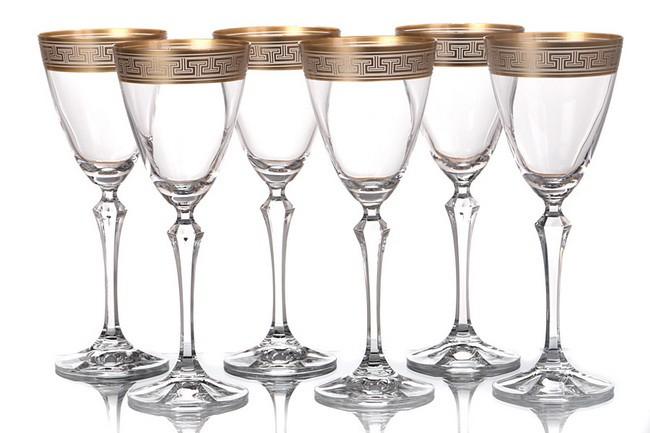 Набор 6 бокалов для вина 250 мл Crystalex