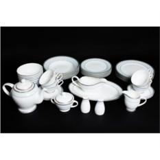 Чайно-столовый сервиз на 6 персон 45 предметов Узор