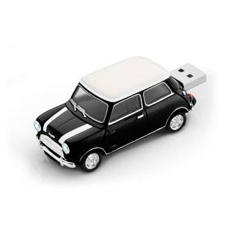 Mini Cooper Black with stripes