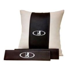 Набор из подушки и накладки на ремень безопасности Lada