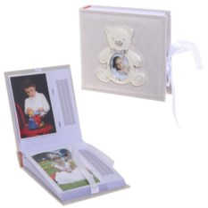 Детский фотоальбом Мишутка, размер 19х17,6х5 см