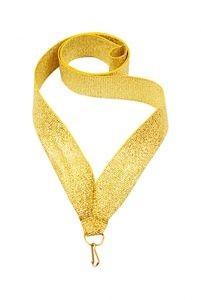 Лента для медалей золотистая