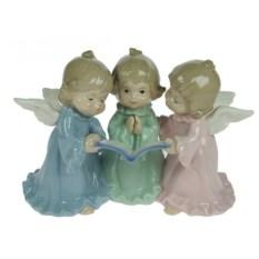 Фарфоровая статуэтка Три ангелочка