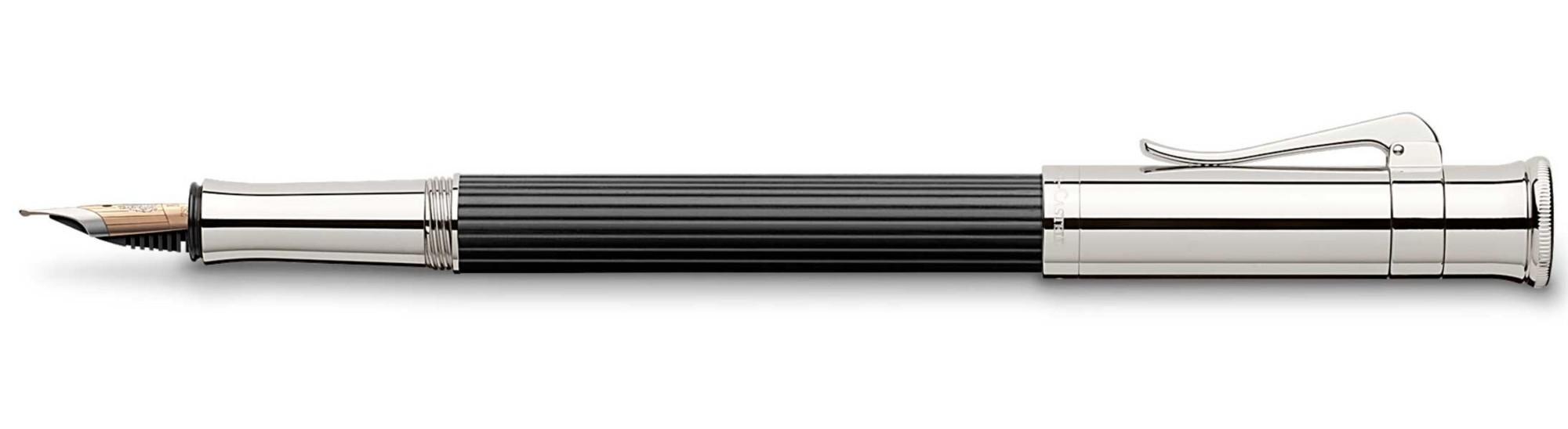 Перьевая ручка Graf von Faber-Castell Classic Ebony M