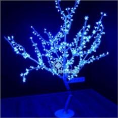 Синее светодиодное дерево Сакура 150х130 см
