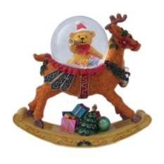 Водяной шар со снегом Рождественский олень