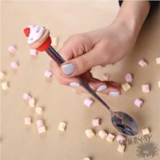 Десертная ложечка Капкейк с сердечком