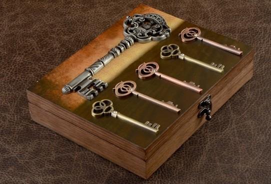 Настенная ключница Волшебные ключи