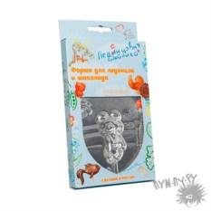 Форма для леденцов, шоколада и карамели Олимпийский мишка