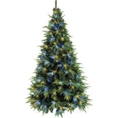 Искусственная ель Альба с электрогирляндой Cristal Trees