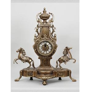 Часы «Пара лошадей»