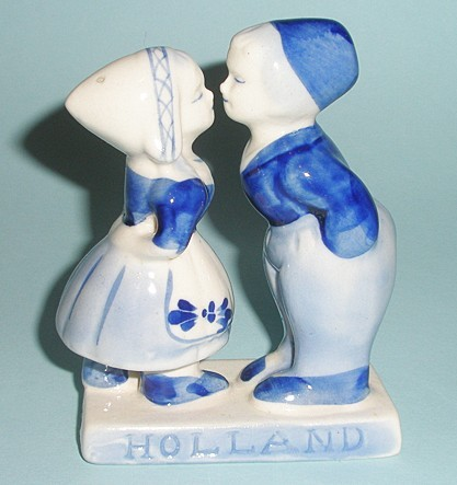 Сувенир из Голландии Парочка