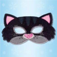 Карнавальная маска «Котик»