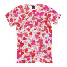 Мужская футболка Сердечная фантазия