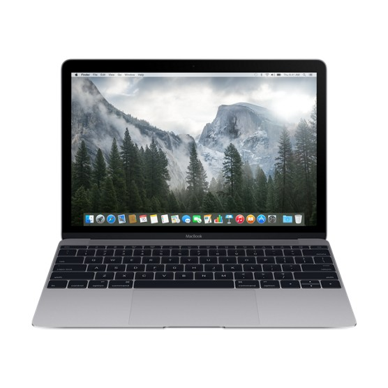 Ноутбук Apple MacBook 12 512Gb (цвет Space Gray)